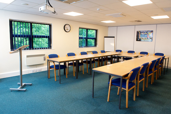 Classroom at Cambridge Safety
